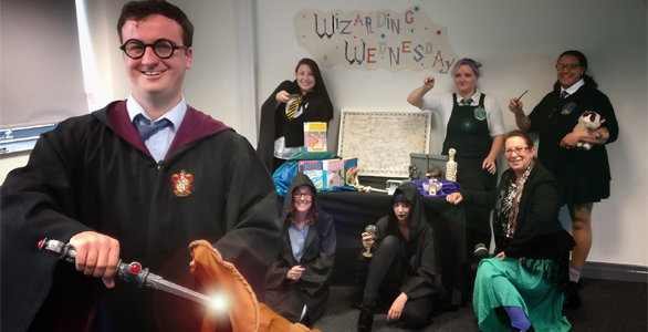 Wizarding Wednesday Staff Photo