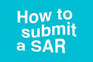 How to submit a SAR