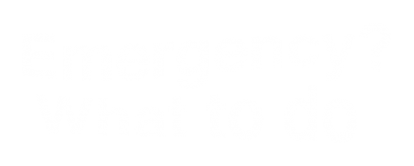 Emergency? What to do